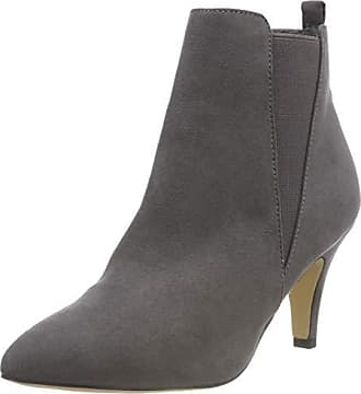 Chelsea Grau dark Heel 171 Eu Low Grey 41 Bianco Femme Bottines w7RxfpqE