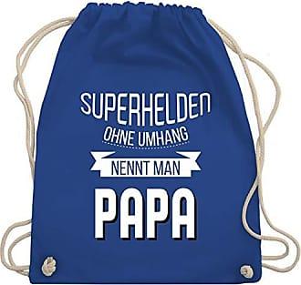 Unisize Man Superhelden Nennt Turnbeutel Royalblau Shirtracer amp; Papa Wm110 Bag Gym Ohne Umhang Vatertag xZSw50Xq