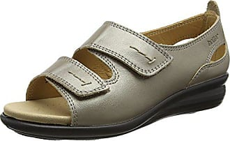 Sandales Ouvert Florence 38 Metallic nickle Eu 5 Gold Bout Hotter Femme SfqcggU