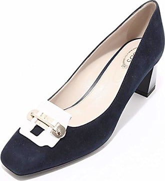 Su Decollete 40 Scarpa T55 Shoes 94207 Women Donna Tod's Blu Gomma wF56qXp