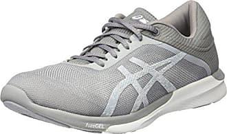 Blanc silver white Femme Grey Asics Fuzex Running mid Eu Rush 37 Chaussures De gw6q8Yw