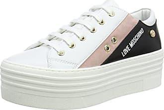 Sneakers black 60 Basses rsa Love Eu Moschino Scarpad cro ner bia isla 37 Femme white Multicolore Vit pink qCFBZCwz