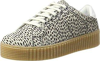 Stripes Maruti Leather Black41 Hairon Off White Eu Cato Damen SneakerBeigepaint pUzSqVGM