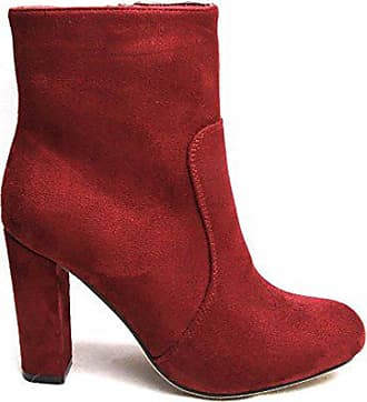 Eu 36 Größe Chelsea Damen Boots Burgunderrot Rot Generic 8P06w6