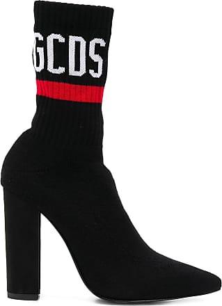 À Gcds Chaussettes Bottines Noir Logo aR6Txq7w