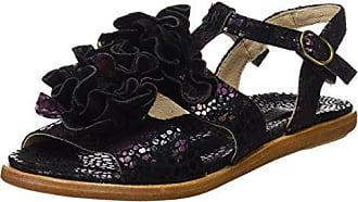 Eu T Aurora S943 Black strap Fantasy Noir Neosens Femme floral Sandals 41 CRB1qc