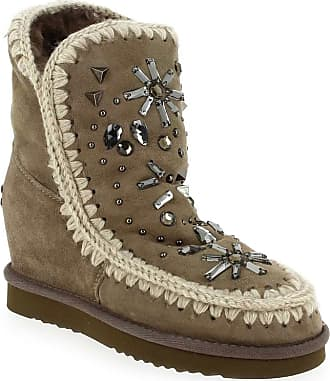 Inner Pour Beige Femme Mou Promo Boots 81Wgff