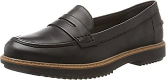 Femme Eletta Eu 39 Leather Noir loafers Clarks 5 Raisie Mocassins black PIqwxB4x