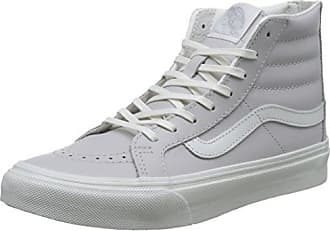 Mujer Zip Altas Vans Zapatillas Sk8 Wind Gris Blanc Ua Eu leather 36 Slim Chime hi Para rInq8IY