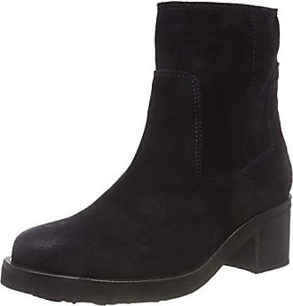 midnight 40 Bottes Boot Jeans Tommy Denim Motardes Suede Essential Eu Hilfiger 403 Bleu Femme Biker YFPOnP0x
