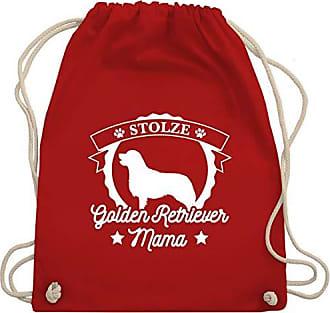 Unisize Wm110 HundeStolze Rot Golden Shirtracer Mama Retriever Turnbeutelamp; Bag Gym W9EH2YDIe