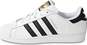 Adidas Homme Blanc Noir Foundation Tennis Superstar NnP8OXZ0wk