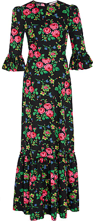 Dress Wife Pleated Cotton Vampires print The Floral A5xqRRY