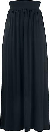 Schwarz Emp Rock Skirt Long Langer qZwgZIA