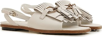 Tod's Leather On In Women Sandals 36 For White Sale Outlet 2017 5 36 rwtr8