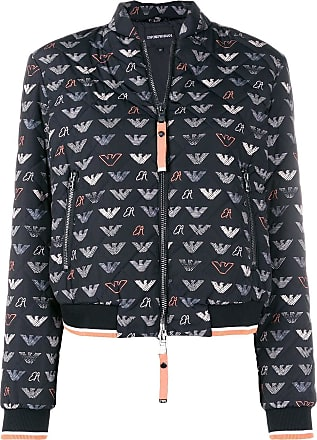 Jacket Bomber Logo Emporio Noir Armani qYRtOwS