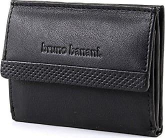 Banani Leder Geldbörse Bruno 019122 Echt Damen Schwarz PwA1Uq1Zd