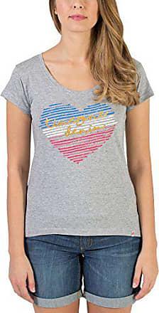 paloma Grey T Timezone Sparkling Grau Heart Melange Mujer 34 Camiseta 2079 shirt Para 8w1pw