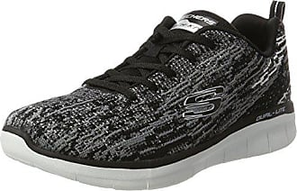 Femme Noir 37 Synergy Skechers Baskets 0 grey black Eu Spirits high 2 gnq1qSfw6