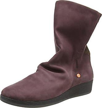 Softinos 004 Eu Violet Bottines Azi461sof purple 41 brick Femme qFqrzYwT