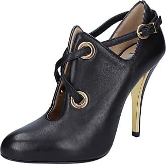 Bottines Cuir By765 Gianni Marra Noir Femme Chaussures txw1XUv