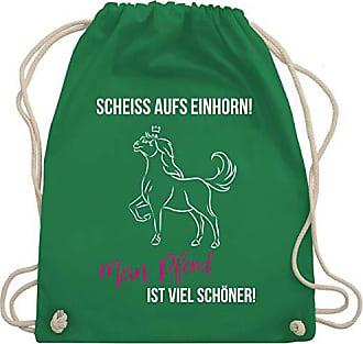 Wm110 Pferd Grün Schöner Ist Bag Reitsport Unisize Turnbeutel Mein amp; Shirtracer Einhorn Gym Scheiß Aufs A0xvq0Xzw