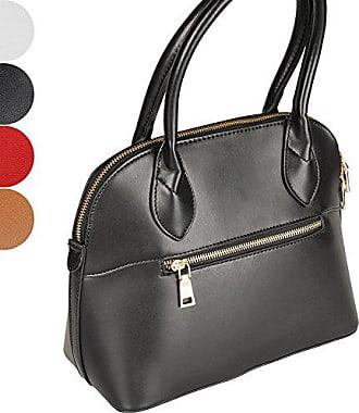 Taschen 28 Damen Frauen Damentasche h Elegant 39 Cm Lederimitat L 13 b Jago Handtasche Schuldertasche Henkeltasche dEq8Znd7