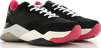 Sneaker 36 37 Schwarz Turnschuh London Für 2017 Damen 39 38 Tennisschuh Wildleder 40 Crime Hg5qw1