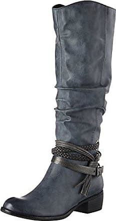 36 Com Eu 25507 Antic Bleu Tozzi Femme Marco navy Bottes C0On8w4z