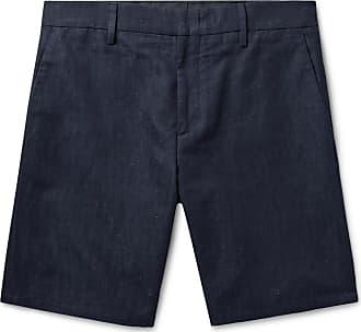 Smith And Denim blend Dark Linen Shorts Cotton Nep Silk Paul pdwgAqA