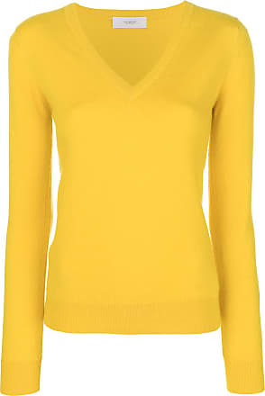 Sweater Fitted Pringle Jaune Of V Scotland Neck x6w0Xfq