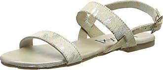 38 Bout silver Femme Sandales Silber Argent Xyxyx Ouvert Sandal beige qvAwf6