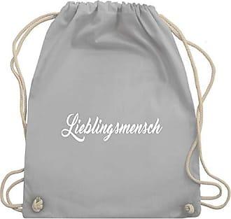 Shirts Bag Shirtracer amp; Wm110 Turnbeutel Unisize Lieblingsmensch Gym Hellgrau Statement f1q51p