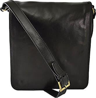 In Dream Leder Umhängetasche Farbe Made Aus Leather Italy Echtem Schwarz Bags Italienische Lederwaren Herrentasche wt4At