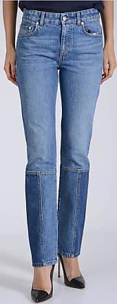 17cm Blue Denim Jeans Größe 38 Alexander McQueen