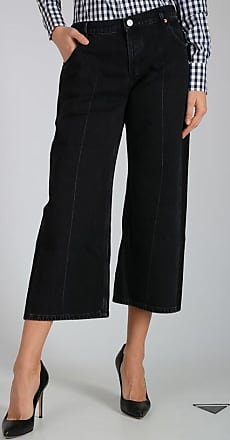 25cm Black Denim Jeans Größe 40 Balenciaga