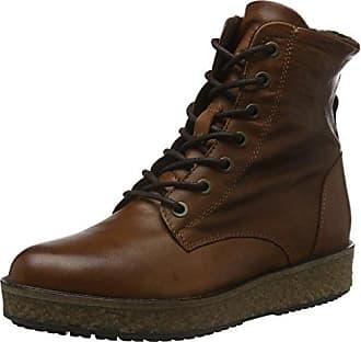 Bianco Flatform Laced Up 31-49041, Rangers Boots Femme, (Light Brown/24), 38 EU