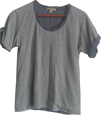 gebraucht - T-Shirt - XS - Damen - Grau - Baumwolle Burberry