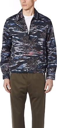 Coach 1941 Printed Blouson Jacket - Hawaiian Black Discount Good Selling Cheap Sale Countdown Package New Styles Cheap Online Cheap Prices Low Cost Online oXhLuwq
