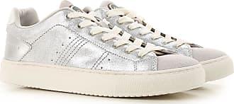 Sneaker für Damen, Tennisschuh, Turnschuh Günstig im Sale, Weiss, Leder, 2017, 41 Guess