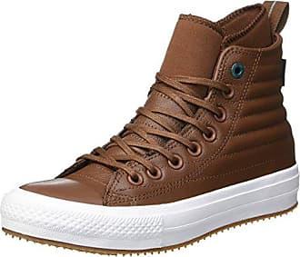 Converse Chuck Taylor CTAS Hi Leather, Zapatillas Altas Unisex Niños, Gris (River Rock/Driftwood/Driftwood 088), 36/37 EU