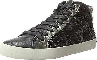 Crime London 11261ks1, Baskets Hautes Homme, Noir (Schwarz), 40 EU