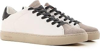 Sneaker für Herren, Tennisschuh, Turnschuh Günstig im Sale, Hellgrau, Wildleder, 2017, 40 41 42 44 Crime London