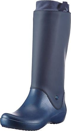 RainFloe 12424-463 Damen Gummistiefel, Blau (Navy/Navy 463), EU 41/42 Crocs