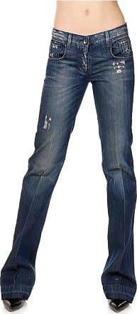 23 cm Ausgestellte Jeans aus Destroyed-Denim Größe 40 Dolce & Gabbana