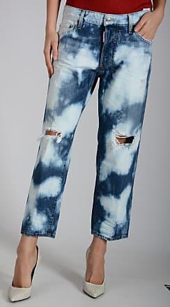 18cm Jeans TOMBOY Jean in Denim Stonewashed Größe 42 Dsquared2