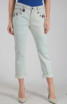 18cm Stretch Denim BOYFRIEND Jeans Größe 42 Fendi