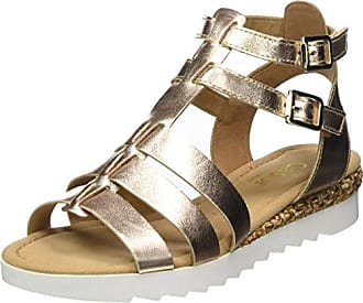 Gabor Shoes Comfort Sport, Sandales Bride Cheville Femme, Vert (Oliv K. Grata), 41 EU