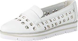 iMac Medina, Mocasines para Mujer, Blanco (Bianco 4205/001), 39 EU