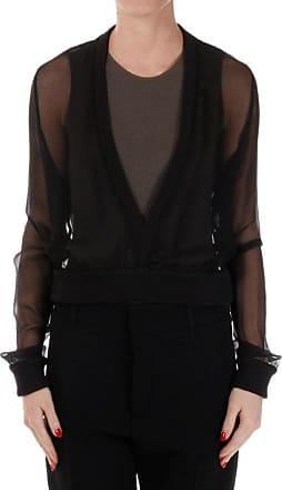 Deep Neck Silk Shirt Größe 40 Givenchy